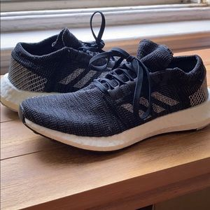 Womens Adidas Pure Boost running sneakers 8.5